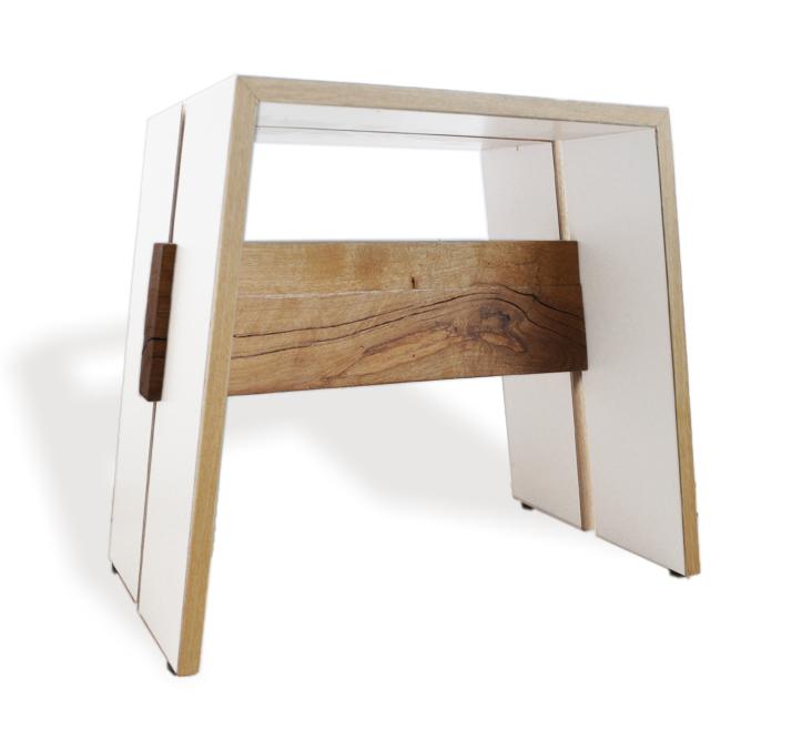 Kruk naar design van Binkmeubel een meubelmaker uit Rotterdam.
